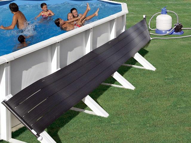 R chauffeur panneaux solaires sun energy 24 pour piscine hors sol sur - Panneaux solaire pour piscine ...