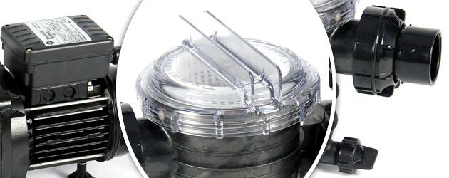 Pompe filtration piscine Sta-Rite SWIMMEY 9m3/h 0.50CV triphasee 380V/50Hz - Pompe Sta-Rite SWIMMEY, gage de qualité et robustesse