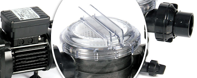 Pompe filtration piscine Sta-Rite SWIMMEY 13m3/h 0.75CV triphasee 380V/50Hz - Pompe Sta-Rite SWIMMEY, gage de qualité et robustesse