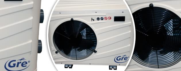 Pompe a chaleur Gre DREAMPAC PRO 3kW monophasee - Pompe à chaleur Gré DREAMPAC PRO Silencieuse et robuste