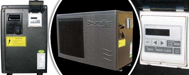 Pompe a chaleur Hayward POWERLINE reversible 6kW monophasee - Pompe à chaleur Hayward POWERLINE réversible Puissance et silence