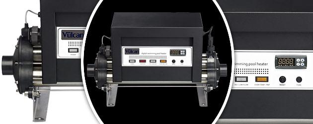 Rechauffeur electrique Vulcan V100 titane 30kW triphase - Réchauffeur électrique Vulcan V100 L'assurance de la qualité
