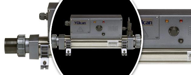 Rechauffeur electrique Vulcan ANALOGIQUE titane 15kW triphase - Réchauffeur électrique Vulcan ANALOGIQUE Simplicité et efficacité
