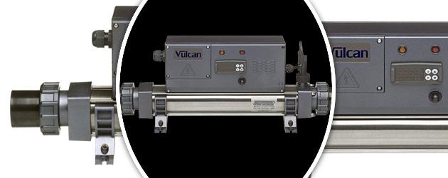 Rechauffeur electrique Vulcan DIGITAL titane 3kW monophase - Réchauffeur électrique Vulcan DIGITAL Simplicité et efficacité