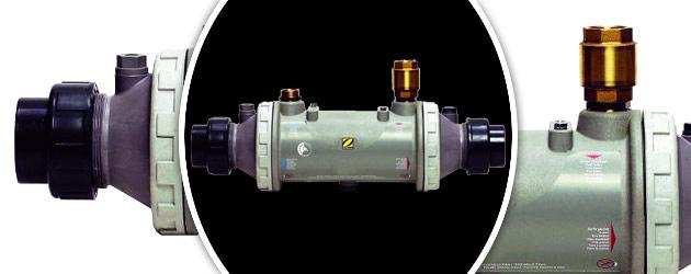 Echangeur de chaleur Zodiac HEAT LINE 20 nu multitubulaire - Echangeur de chaleur Zodiac HEAT LINE Puissance et robustesse