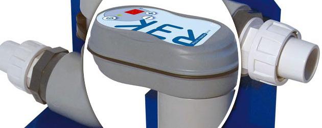 Rechauffeur electrique digital CCEI R3K 3kW Titane piscine hors-sol - Réchauffeur électrique digital CCEI R3K 3kW Titane piscine hors-sol 30m³